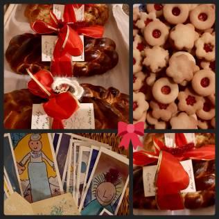 Vánočky, cukroví a přáníčka pro sousedy